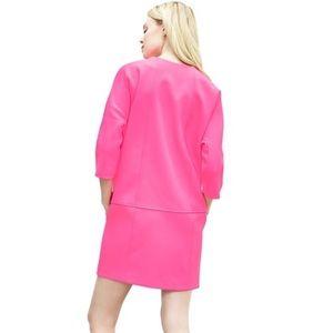 Neon Pink Banana Republic Shift Dress Size 0